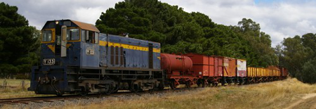 Y133 hauling a Goods Train